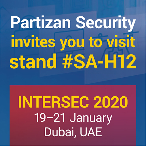 Partizan Security invites you to the Intersec Dubai 2020!