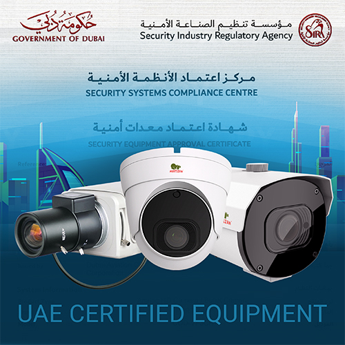 Partizan – UAE certified equipment!