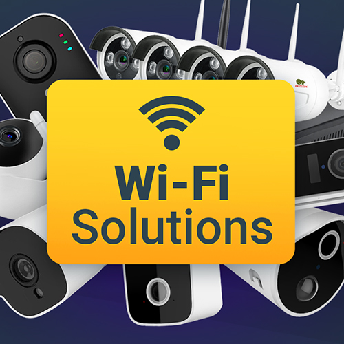 Wi-Fi video surveillance: less wires, more opportunities!